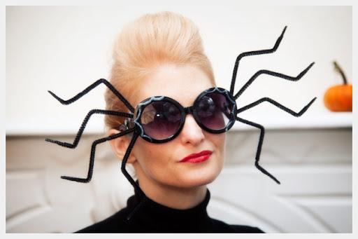 DIY Halloween glasses