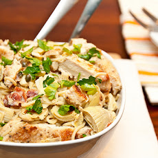 Artichoke Lemon & Chicken Pasta