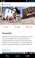 Screenshot of Croatia.hr - travel guide