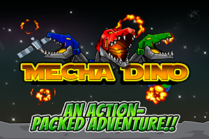 Screenshot of Mecha Dino dinosaur