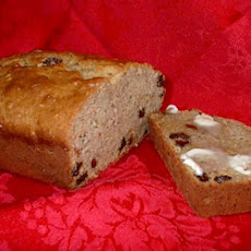 Moist Banana Raisin Bread