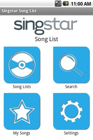 SingStar Song List
