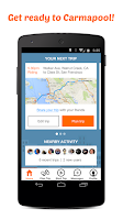 Screenshot of Carma Carpooling