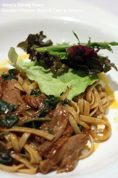Peking Duck Pasta @ Garden Lifestyle Store & Cafe - Malaysia Food ...