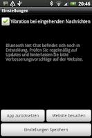 Screenshot of Bluetooth Net Chat