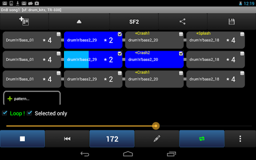 Drum Grooves Arranger - screenshot