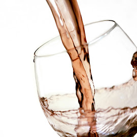 A Little Red by Dallas Kempfle - Food & Drink Alcohol & Drinks ( liquid grapes, wine, red, glass, wineglass )