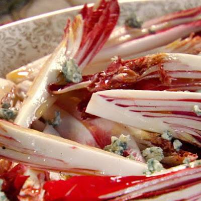 Endive Wedges with Blue Cheese Vinaigrette