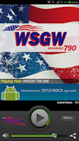 Screenshot of WSGW Newsradio 790