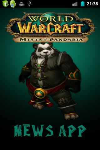 WoW Mist of Pandaria News App