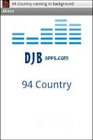 Screenshot of 94.5 Country