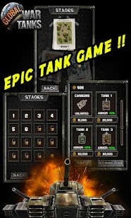Screenshots  Global War Tanks