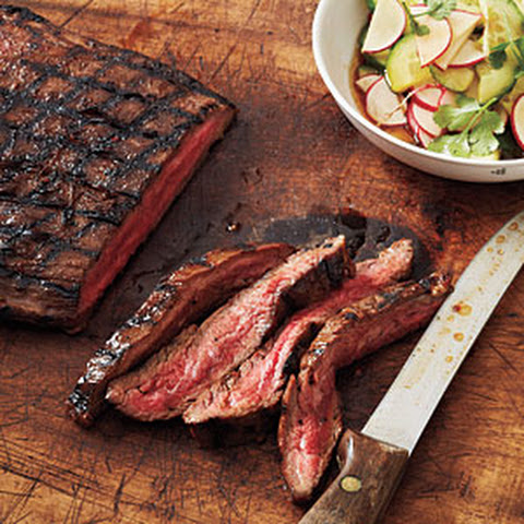 Hoisin-Glazed Steak with Sesame Vegetables