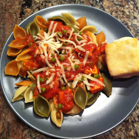 Pasta Shells with Chicken