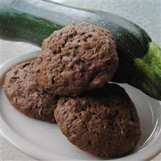Mom's Chocolate Zucchini Cookies