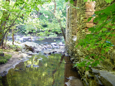 Mill Ruins on the Creek