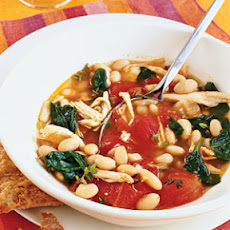 Chicken, White Bean, and Spinach Stew