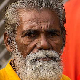Baba Ravidas by Rakesh Syal - People Portraits of Men (  )