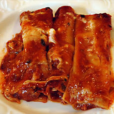 Three Cheese Chipotle Manicotti
