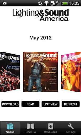 Lighting and Sound America