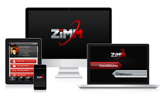 Screenshot of ZiMM | Job Matching Tool