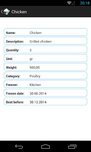 ZerAdmin 2,manage the food - screenshot