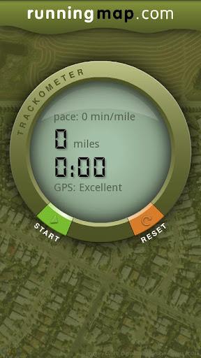 Runningmap Trackometer