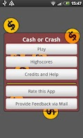 Screenshot of Cash or Crash