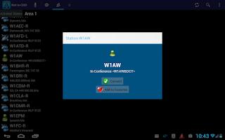 Screenshot of EchoLink