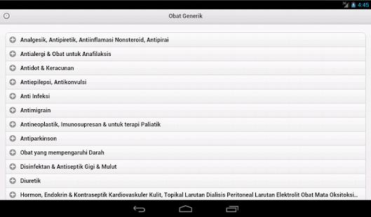 Obat Generik- screenshot thumbnail