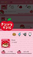 Screenshot of 페어리테일 레드 카카오톡 테마