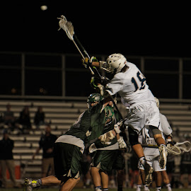 Over the top by Kevin Mummau - Sports & Fitness Lacrosse ( defense, score, crosscheck, attack, shot )