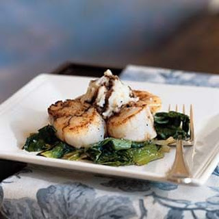 Pan Seared Scallops With Balsamic Vinegar Recipes