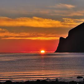 Colours of sunset... by Radu Marian - Landscapes Sunsets & Sunrises ( sunset, colours.., landscape, golden hour, sunrise )