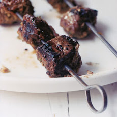 Sirloin Kebabs with Southeast-Asian-Style Spice Paste
