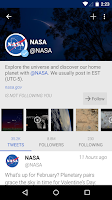 Screenshot of Fenix for Twitter