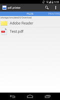 Screenshot of pdf.printer