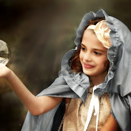 the magic inside us by Julianna Michelle - Babies & Children Child Portraits ( magical children butterfly mystical fantasy )