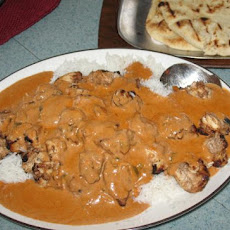 Spicy Chicken Tikka Masala, Grilled Version