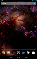 Screenshot of Space Live Wallpaper Pro