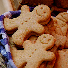 Gingerbread Roll-Out Cookies