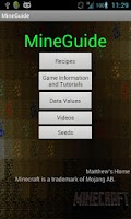 Screenshot of MineGuide - Minecraft guide