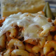 Pizza Mac Casserole