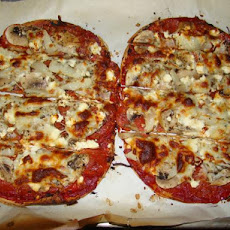 Quick Flatbread Pizza