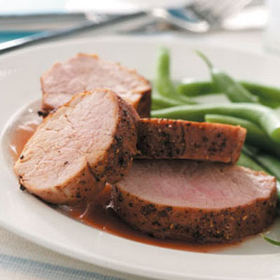 Cherry-Glazed Pork Tenderloin