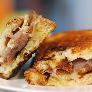 The Fig, Prosciutto and Brie Panini