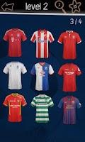 Screenshot of Football Kits Quiz