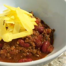 Bry's Chocolate Lamb Chili