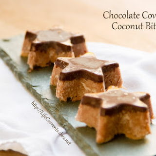 Chocolate Covered Coconut Bites