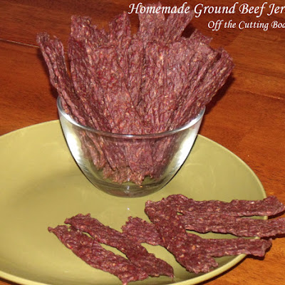 Homemade Ground Beef Jerky